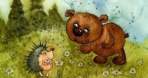 Ведмідь та їжак